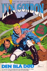 Cover Thumbnail for Lyn Gordon (Semic, 1980 series) #2/1981