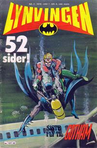 Cover Thumbnail for Lynvingen (Semic, 1977 series) #2/1979