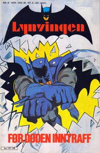 Cover Thumbnail for Lynvingen (Semic, 1977 series) #8/1978