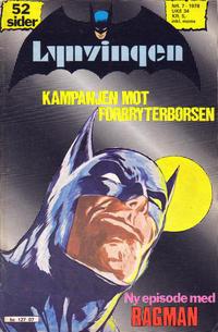 Cover Thumbnail for Lynvingen (Semic, 1977 series) #7/1978