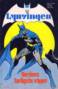 Cover Thumbnail for Lynvingen (Semic, 1977 series) #5/1978