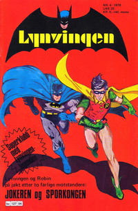 Cover Thumbnail for Lynvingen (Semic, 1977 series) #4/1978