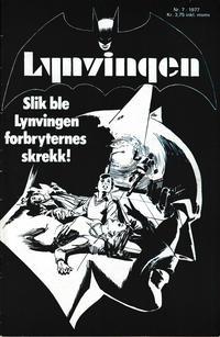 Cover Thumbnail for Lynvingen (Semic, 1977 series) #7/1977