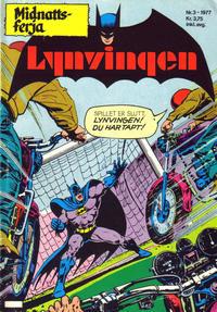 Cover Thumbnail for Lynvingen (Semic, 1977 series) #3/1977