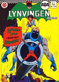 Cover Thumbnail for Lynvingen (Serieforlaget / Se-Bladene / Stabenfeldt, 1966 series) #1/1969