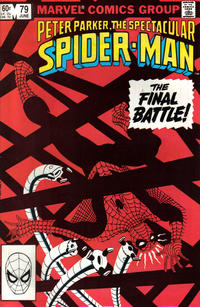 Cover Thumbnail for The Spectacular Spider-Man (Marvel, 1976 series) #79 [Direct Edition]