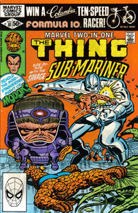 Cover Thumbnail for Marvel Two-in-One (Marvel, 1974 series) #81 [Direct]
