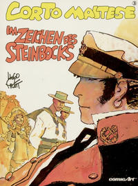 Cover Thumbnail for Corto Maltese (Carlsen Comics [DE], 1988 series) #3 - Im Zeichen des Steinbocks