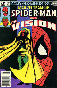 Cover Thumbnail for Marvel Team-Up (Marvel, 1972 series) #129 [Newsstand]