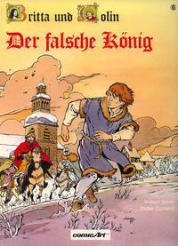 Cover Thumbnail for Britta und Colin (Carlsen Comics [DE], 1987 series) #6 - Der falsche König