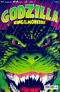 Cover Thumbnail for Godzilla (Carlsen Comics [DE], 1998 series) #5