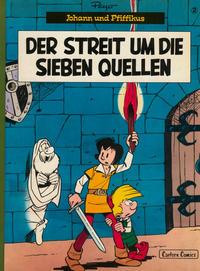 Cover Thumbnail for Johann und Pfiffikus (Carlsen Comics [DE], 1979 series) #2 - Der Streit um die sieben Quellen