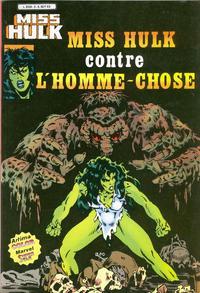 Cover Thumbnail for Miss Hulk (Arédit-Artima, 1980 series) #3