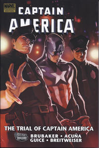 Cover Thumbnail for Captain America: The Trial of Captain America (Marvel, 2011 series)