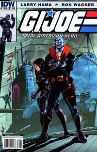 Cover Thumbnail for G.I. Joe: A Real American Hero (IDW, 2010 series) #166 [Cover B]