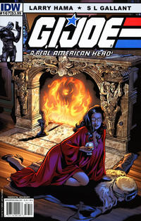 Cover Thumbnail for G.I. Joe: A Real American Hero (IDW, 2010 series) #167 [Cover A]