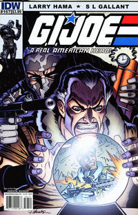 Cover Thumbnail for G.I. Joe: A Real American Hero (IDW, 2010 series) #167 [Cover B]