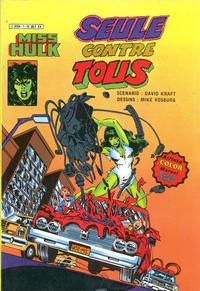 Cover Thumbnail for Miss Hulk (Arédit-Artima, 1980 series) #7
