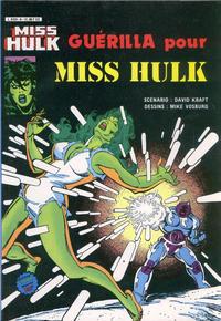 Cover Thumbnail for Miss Hulk (Arédit-Artima, 1980 series) #8