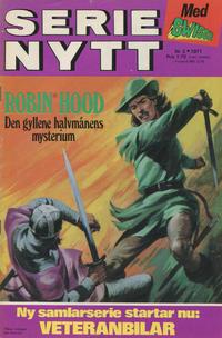 Cover Thumbnail for Serie-nytt [delas?] (Semic, 1970 series) #3/1971