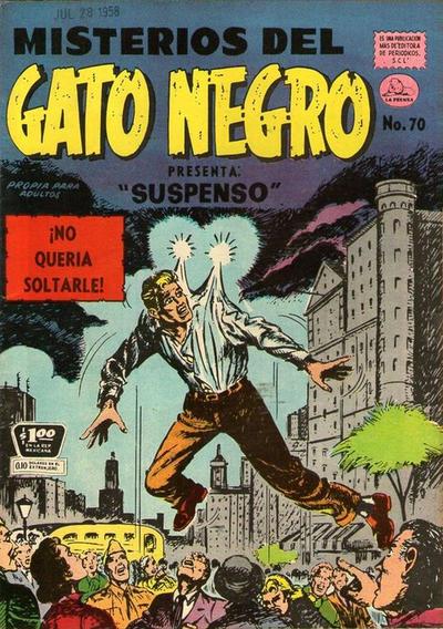 Cover for Misterios del Gato Negro (Editora de Periódicos La Prensa S.C.L., 1953 series) #70