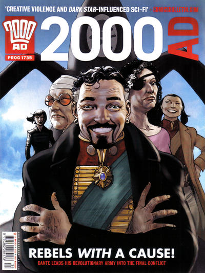 Cover for 2000 AD (Rebellion, 2001 series) #1735