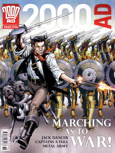 Cover for 2000 AD (Rebellion, 2001 series) #1736