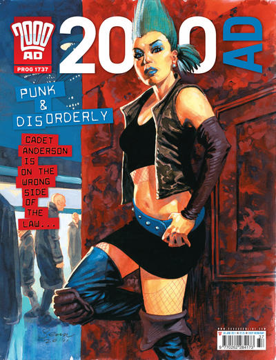 Cover for 2000 AD (Rebellion, 2001 series) #1737