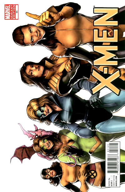 Cover for X-Men (Marvel, 2010 series) #11 [Variant Edition]