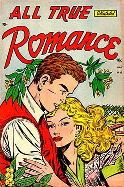 Cover for All True Romance (Comic Media, 1951 series) #6