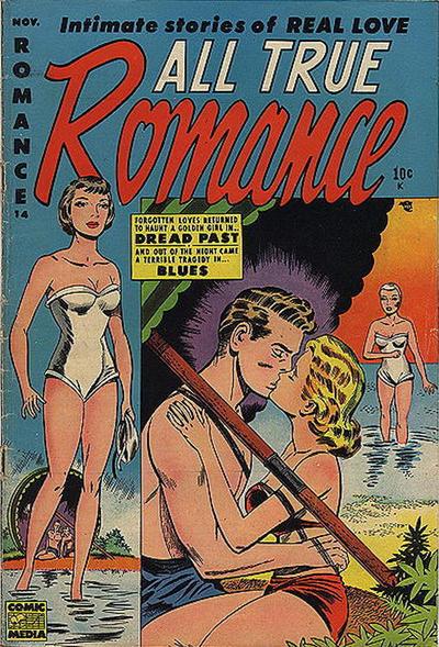 Cover for All True Romance (Comic Media, 1951 series) #14