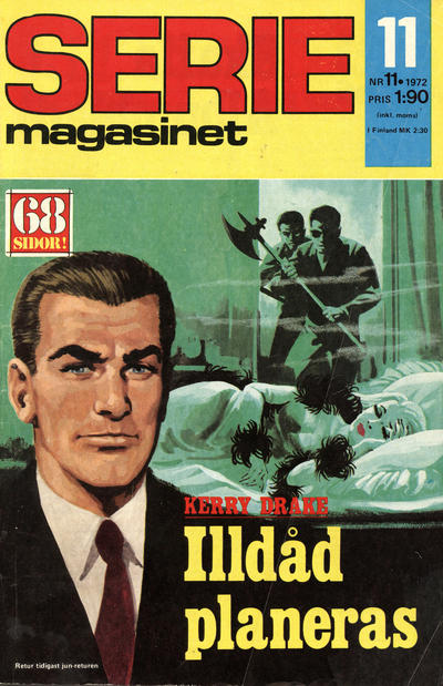 Cover for Seriemagasinet (Semic, 1970 series) #11/1972