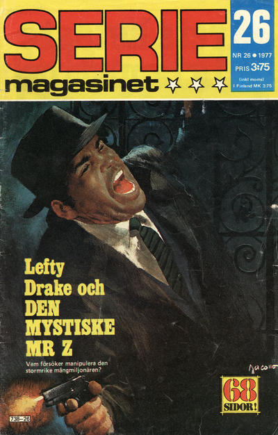 Cover for Seriemagasinet (Semic, 1970 series) #26/1977