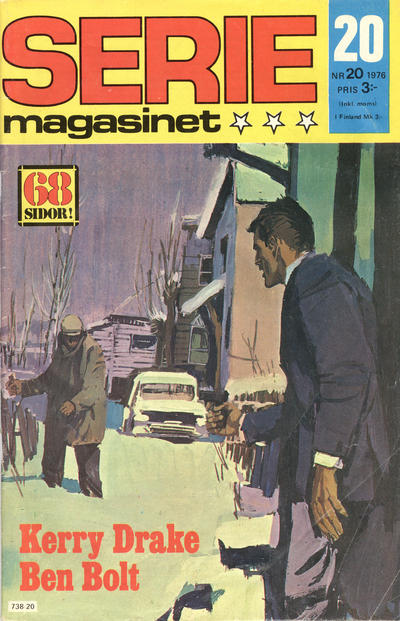 Cover for Seriemagasinet (Semic, 1970 series) #20/1976