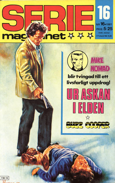 Cover for Seriemagasinet (Semic, 1970 series) #16/1981