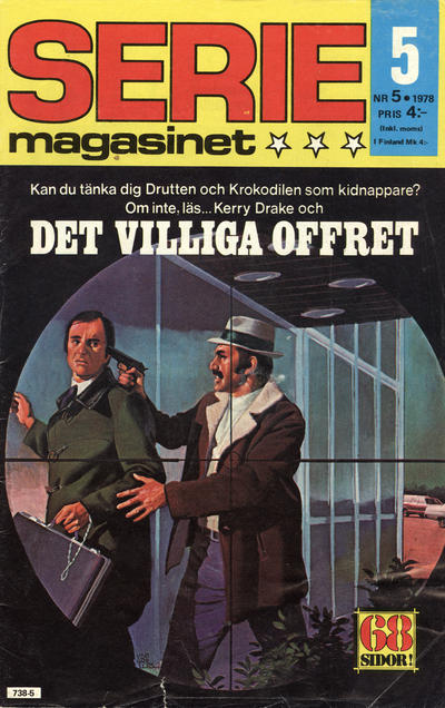 Cover for Seriemagasinet (Semic, 1970 series) #5/1978