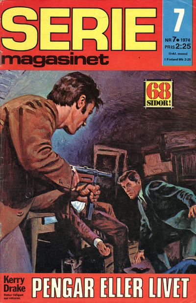 Cover for Seriemagasinet (Semic, 1970 series) #7/1974
