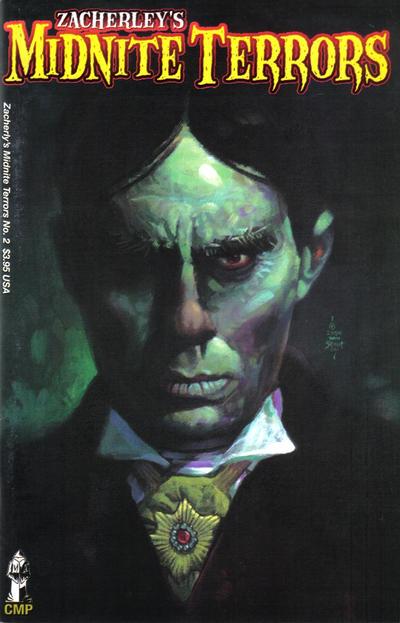 Cover for Zacherley's Midnite Terrors (Chanting Monks Studios, 2004 series) #2