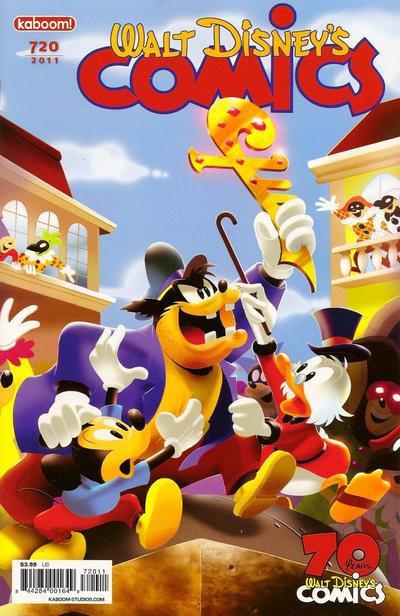 Cover for Walt Disney's Comics and Stories (Boom! Studios, 2009 series) #720