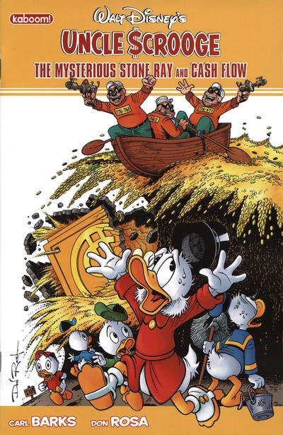 Cover for Uncle Scrooge: The Mysterious Stone Ray & Cash Flow (Boom! Studios, 2011 series)