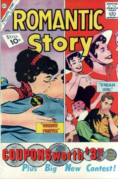 Cover for Romantic Story (Charlton, 1954 series) #54