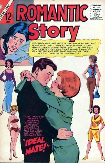 Cover for Romantic Story (Charlton, 1954 series) #83
