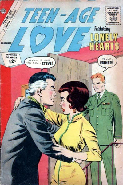 Cover for Teen-Age Love (Charlton, 1958 series) #29