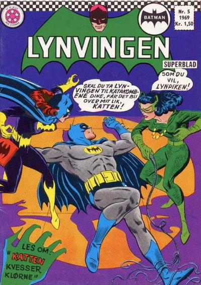 Cover for Lynvingen (Serieforlaget / Se-Bladene / Stabenfeldt, 1966 series) #5/1969