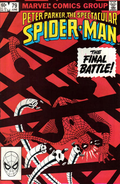 Cover for The Spectacular Spider-Man (Marvel, 1976 series) #79 [Direct Edition]