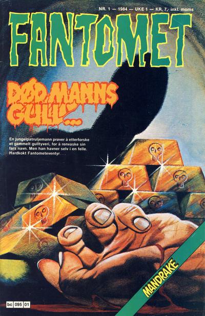 Cover for Fantomet (Semic, 1976 series) #1/1984