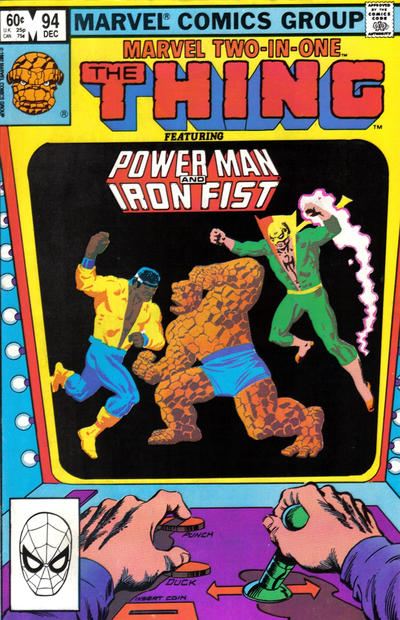 Cover for Marvel Two-in-One (Marvel, 1974 series) #94 [Direct]