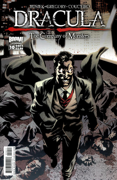Cover for Dracula: The Company of Monsters (Boom! Studios, 2010 series) #10
