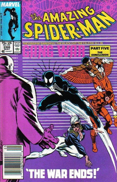 Cover for The Amazing Spider-Man (Marvel, 1963 series) #288 [Newsstand Edition]