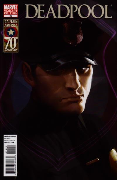 Cover for Deadpool (Marvel, 2008 series) #39